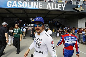 "IndyCar Breaking news Alonso says ""why not?"" to fulltime IndyCar switch"