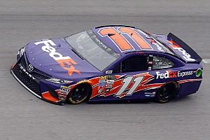 NASCAR Sprint Cup Crónica de Carrera Denny Hamlin ganó la segunda etapa en Talladega