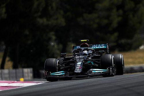 """F1: Bottas diz que é """"difícil dizer"""" se bom desempenho na França tem relação com troca de chassis"""