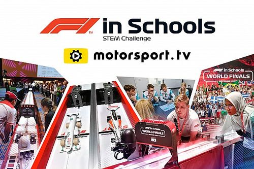 Мировой финал «Ф1 в школах» покажет в прямом эфире Motorsport.tv