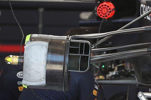 Análisis técnico: El cambio de Red Bull en los ductos de frenos
