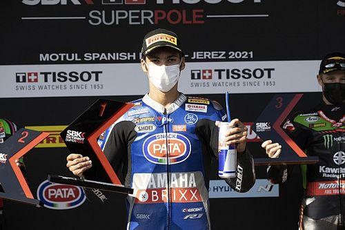 Jerez WSBK: Razgatlioglu beats Kawasaki duo to first 2021 pole