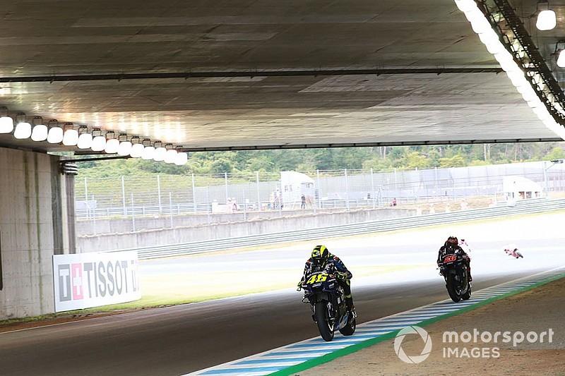 Yamaha in Japan in den Top 5: Rossi warnt Vinales vor zu viel Euphorie