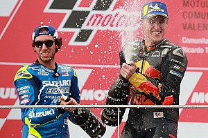 "Espargaro: ""Dit podium nog emotioneler moment dan Moto2-titel"""