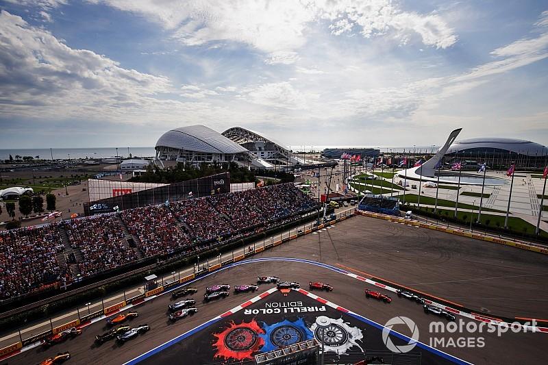 Formel 1 Sotschi 2018: Die schönsten Bilder am Sonntag