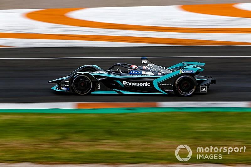 Fittipaldi, Tincknell join Jaguar for rookie Formula E test