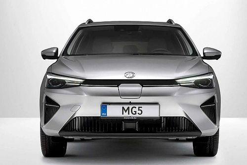 Európába is megérkezik az MG elektromos kombija