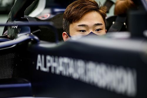 Tsunoda already contributing to AlphaTauri F1 car development