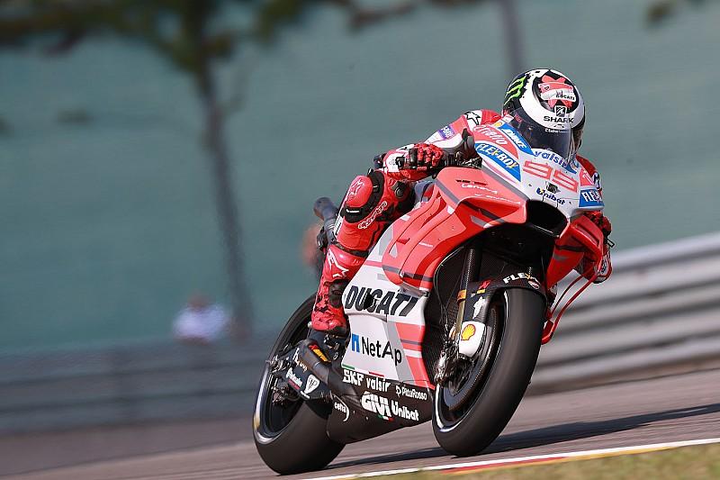 FP2 MotoGP Jerman: Lorenzo tercepat, Rossi terancam Q1
