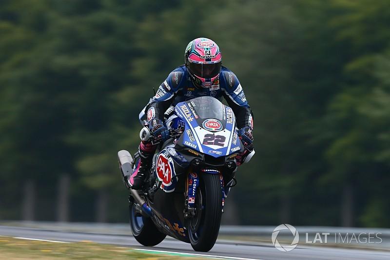 WSBK Brno: Lowes snelste in laatste vrije training, Van der Mark zesde