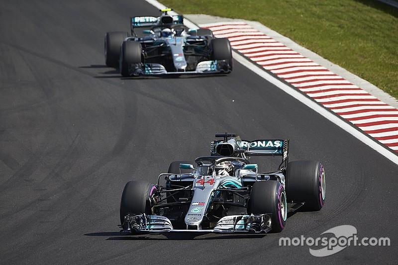 La Mercedes valuterà se mettere Bottas al servizio di Hamilton dopo Monza