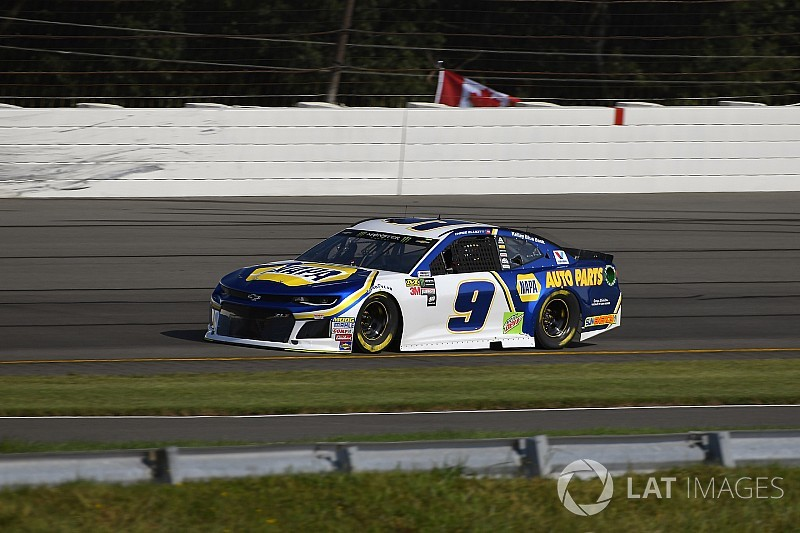 Chase Elliott cruises to Stage 1 win at Pocono