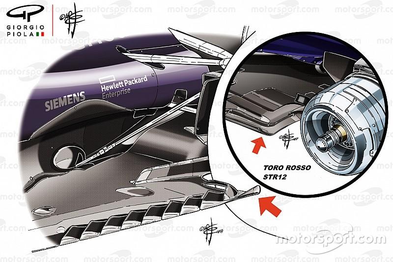 Технічний аналіз: важливе оновлення днища машини Ф1 Red Bull