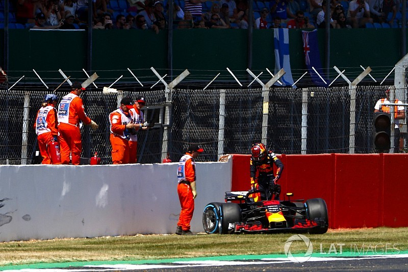 Verstappen admits he pushed too much on hard tyre