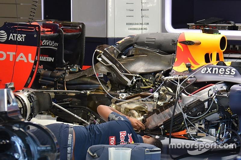 Red Bull: radiatore dell'ERS grande e inclinato e ala posteriore scarica