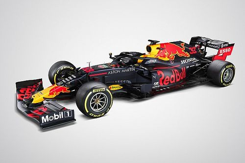 Red Bull Racing presenteert 2020-auto van Verstappen en Albon
