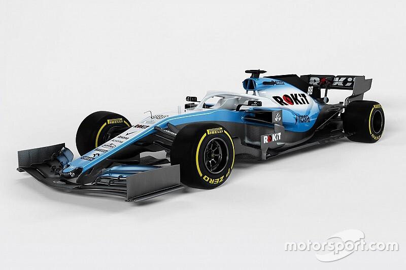 Számítógépes grafikákat közölt a Williams a 2019-es kocsiról