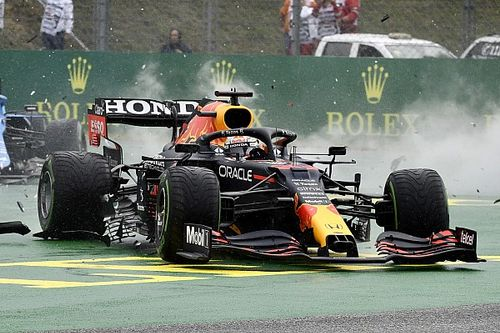 The images that reveal Verstappen's missing half F1 car