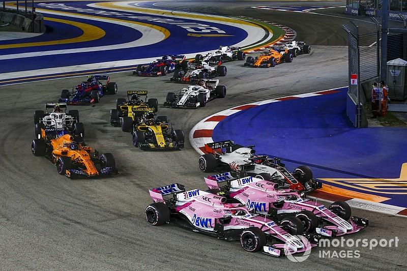 Force India spreekt Perez en Ocon toe na crash: Laat elkaar leven
