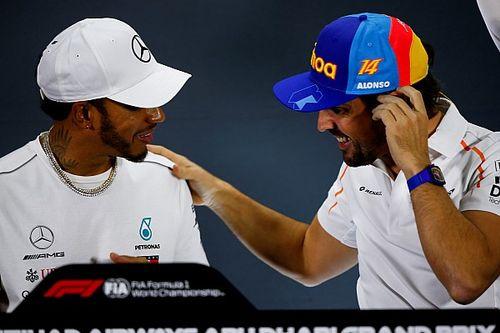 """هاميلتون: لا شكّ بأن ألونسو سيكون ضمن """"لياقة رائعة"""" مع عودته إلى الفورمولا واحد"""