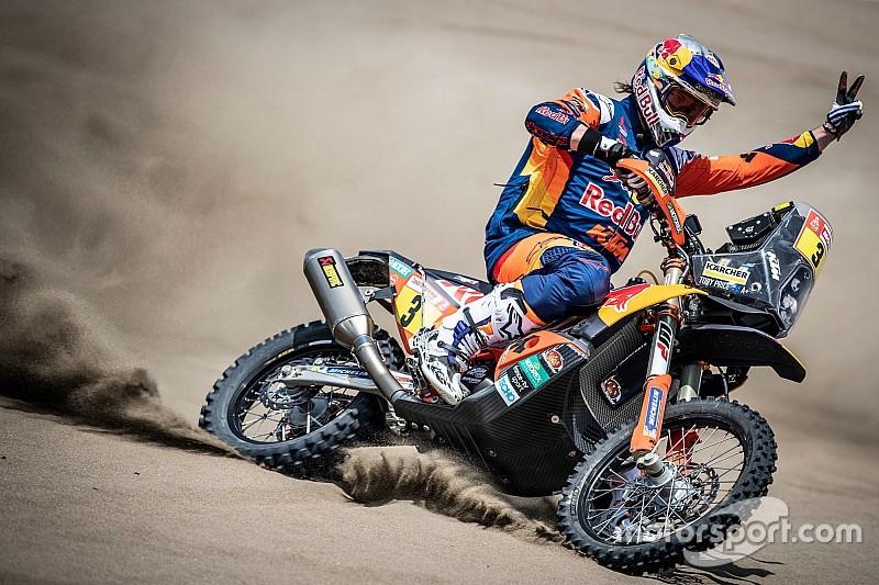 Dakar, ecco il trucco che ha aiutato Toby Price a vincere nonostante l'infortunio al polso!