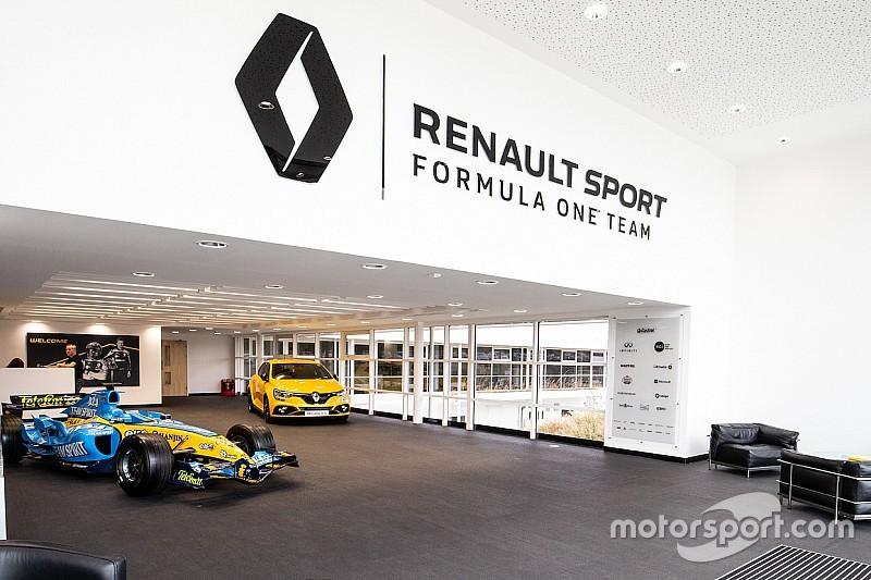 Diaporama - L'usine de l'équipe Renault Sport F1