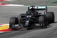F1スペインFP2:ハミルトン首位でメルセデスがまたもワンツー。フェルスタッペンは0.8秒差の3番手