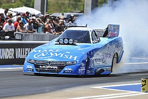 NHRA Race report Johnson and Langdon take first wins of season