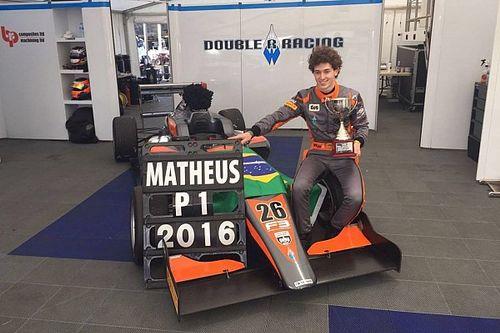 Gaúcho Matheus Leist é campeão da Fórmula 3 Inglesa