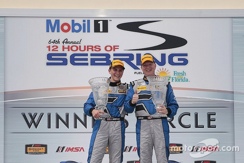 Porsche Cayman GT4 scores first win with Cassels and Hindman at Sebring