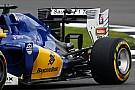 Sauber: provata la nuova ala posteriore per l'Ungheria