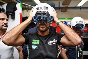 MotoGP Самое интересное Фото: что видит механик Aprilia в шлеме дополненной реальности