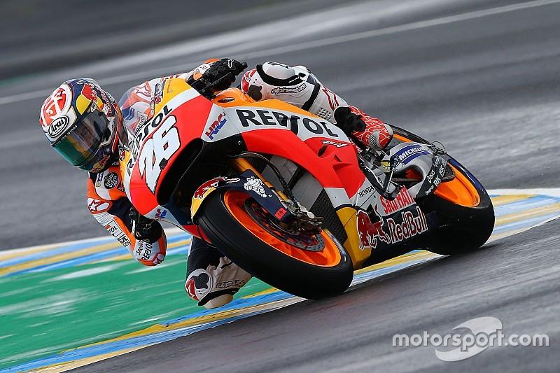 【MotoGP】ペドロサ「なぜかリヤタイヤが作動しなかった」