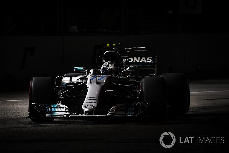 Bottas se diz assustado com desempenho ruim da Mercedes