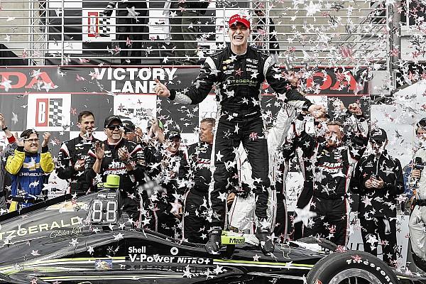 IndyCar Ньюгарден одержал победу в Алабаме, Алешин 10-й