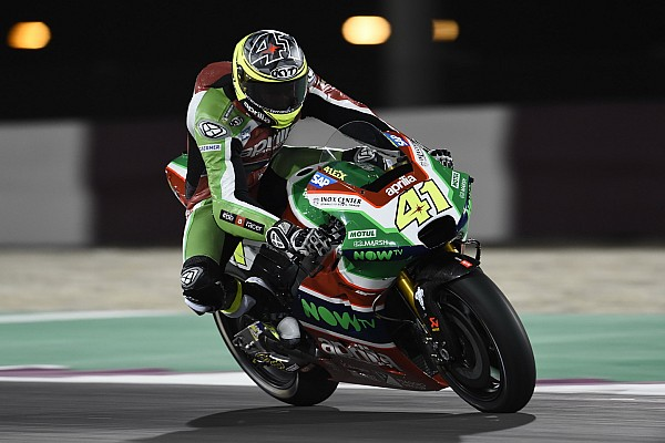 "MotoGP Breaking news Espargaro hails ""dream"" top-six result on Aprilia debut"