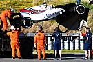 Formula 1 Williams uncertain of running on Thursday after Stroll crash