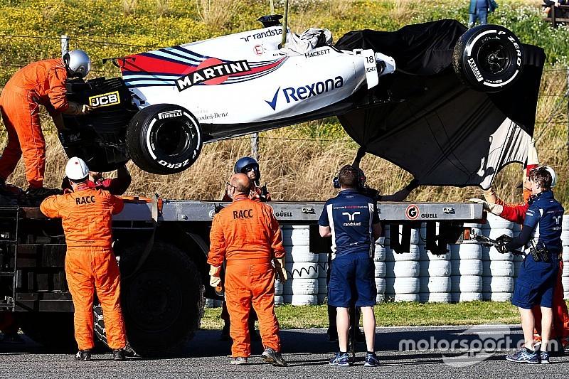 У Williams припустили дострокове припинення тестів після аварії Стролла
