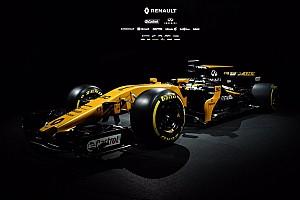 Renault'nun 2017 F1 aracı R.S.17 görücüye çıktı!