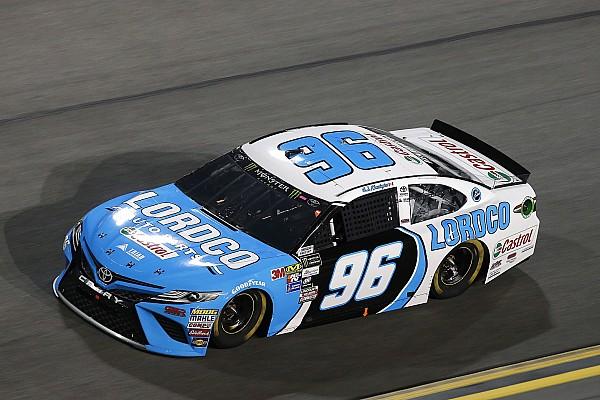 NASCAR Cup Breaking news DJ Kennington celebrates making first Daytona 500
