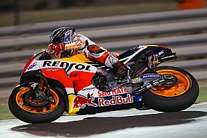 MotoGP Test Test Qatar, Day 2: Marquez al comando alle 19 con la carena standard