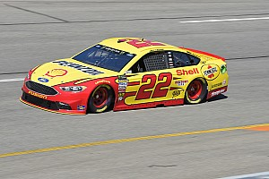 NASCAR Cup Race report Joey Logano passes Bowyer to win Stage 2 at Richmond