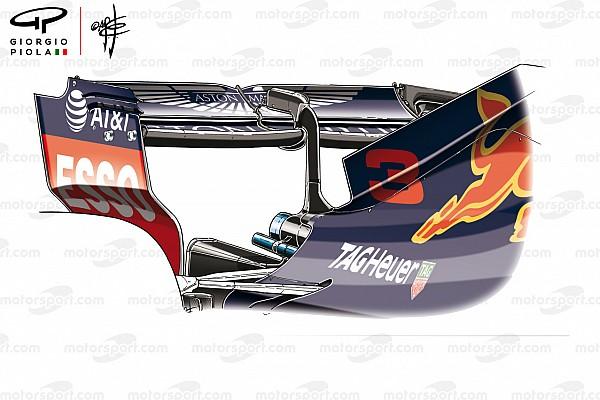 Formel 1 Formel-1-Technik: Die Baku-Heckflügel der drei Topteams