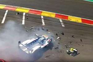 WEC Noticias El equipo revela la causa del accidente que fracturó las piernas de Fittipaldi