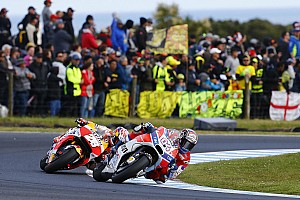MotoGP 速報ニュース ドヴィツィオーゾ「序盤のミスよりもスピード不足で酷い結果に」
