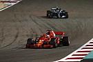 Hat Valtteri Bottas Sebastian Vettel auf der falschen Seite attackiert?