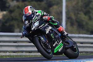 World Superbike Crónica de test Rea hace el mejor tiempo en Jerez