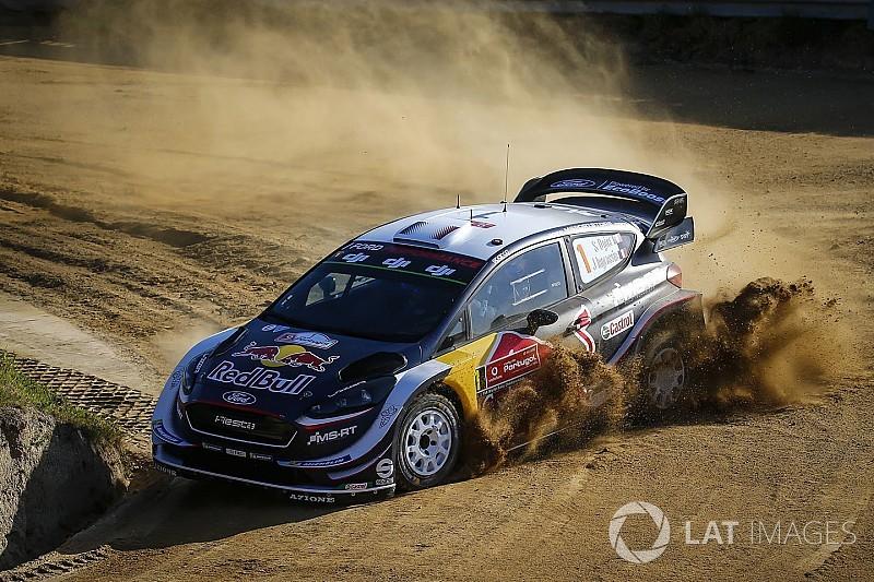 Ogier choca en el Rally de Portugal