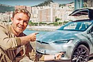 Automotive Nico Rosberg drives Tesla Model X – calls Musk crazy