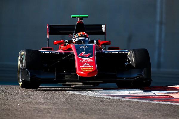 Мазепин показал восьмое время в первый день тестов GP3
